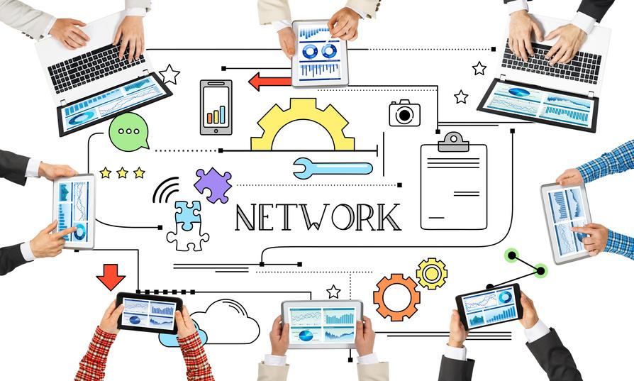 Meta-Networking: Kombination der Netzwerke.
